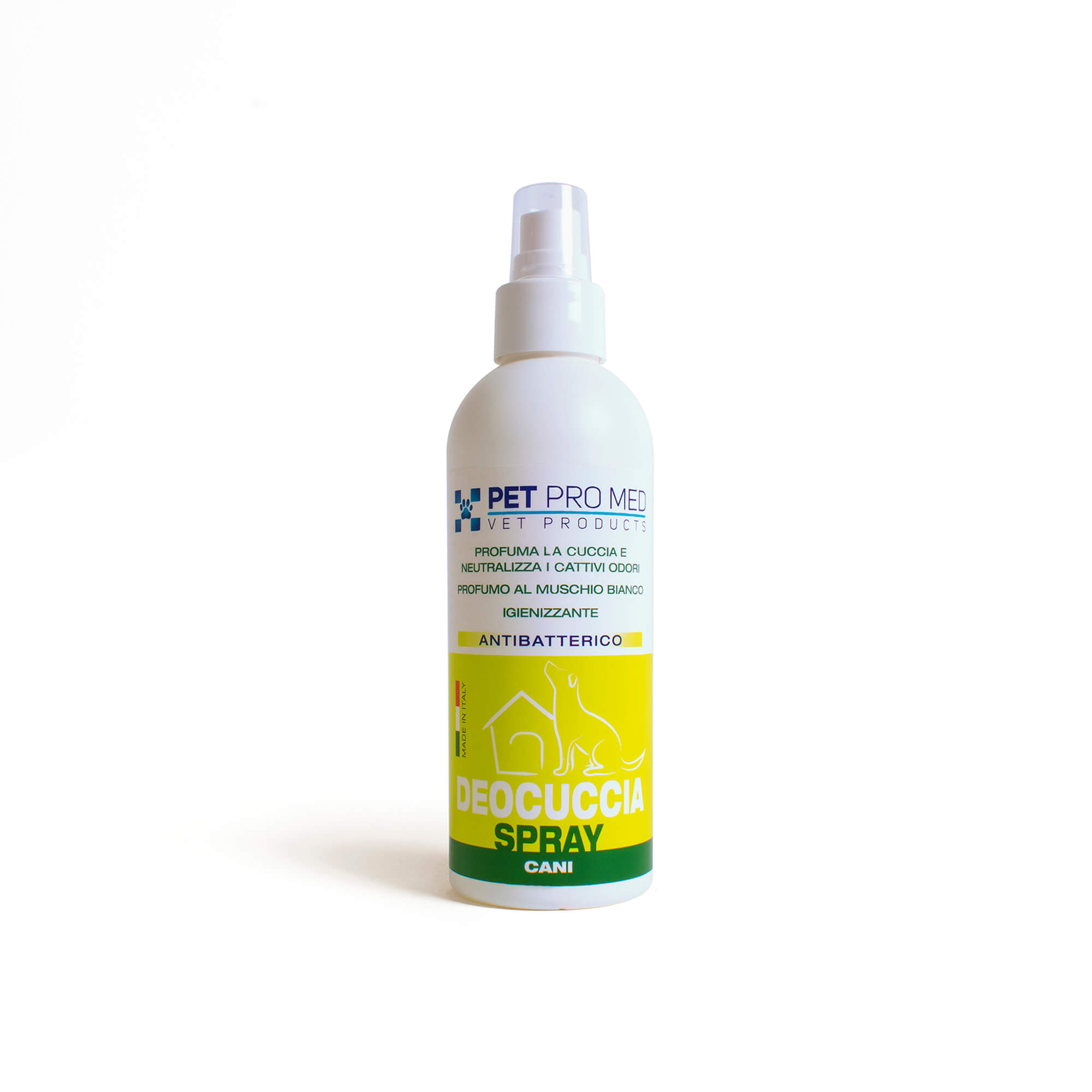 Deocuccia è lo spray ogienizzante e deodorante